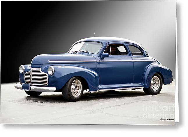 1941 Chevrolet Business Coupe II Greeting Card by Dave Koontz