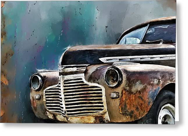 1941 Chevy Greeting Card