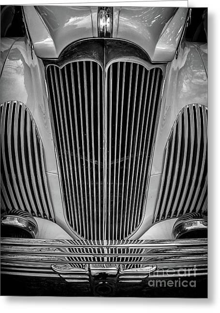1941 Packard Convertible Greeting Card