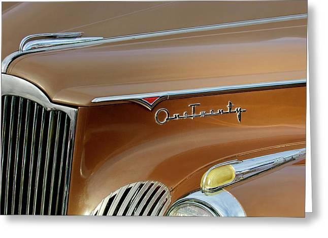 1941 Packard Hood Ornament 2  Greeting Card