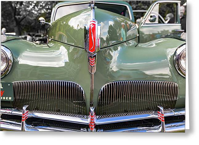 1941 Studebaker Commander Land Cruiser Greeting Card by Jack R Perry