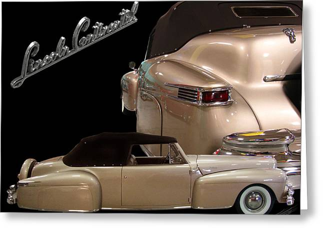 1941lincoln Continental  Greeting Card