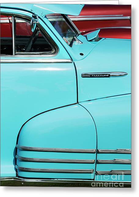 1942 Chevrolet Fleetline Sportmaster Greeting Card