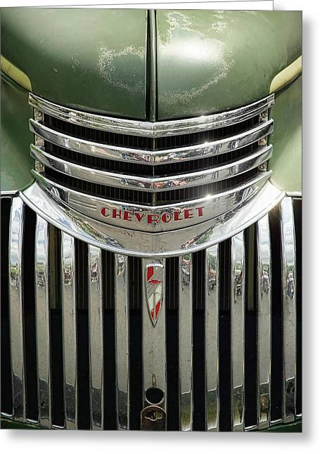 Chevrolet Pickup Truck Digital Greeting Cards - 1946 Chevrolet Pick Up Greeting Card by Gordon Dean II