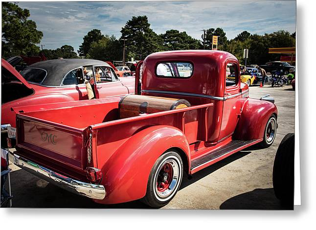 1946 Gmc Pickup Truck 5514 .06 Greeting Card
