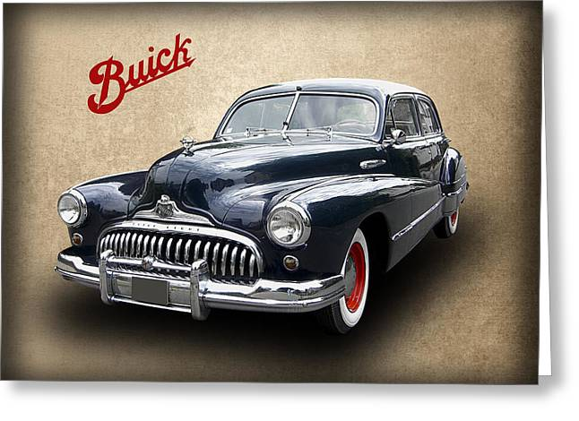 1947 Buick 8 Greeting Card