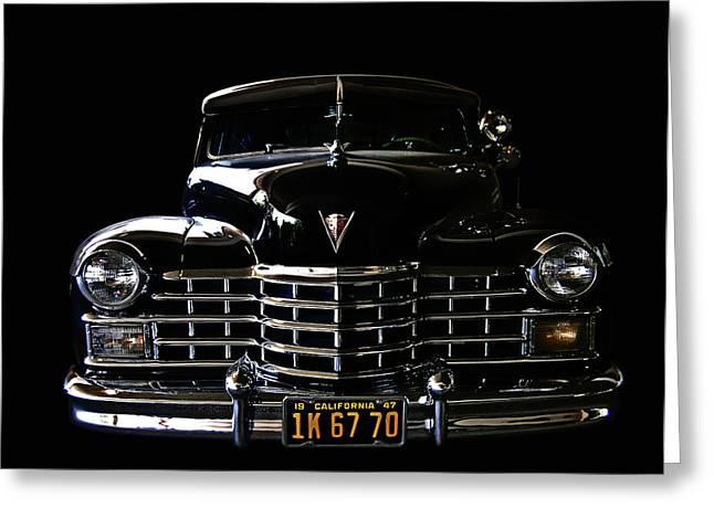 1947 Cadillac Greeting Card