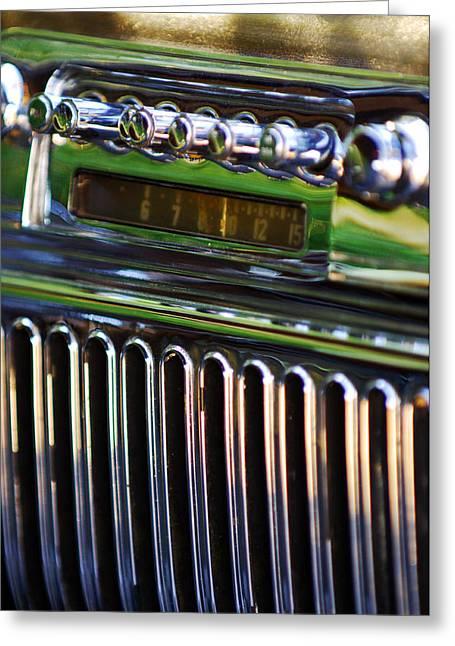 1947 Cadillac Model 62 Coupe Radio Greeting Card