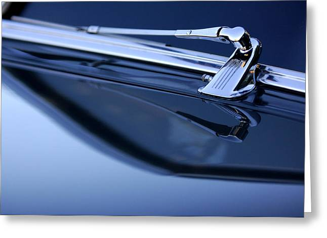1947 Cadillac Model 62 Coupe Windshield Wiper Greeting Card