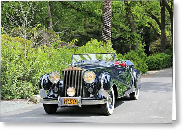 1947 Inskip Rolls Royce Greeting Card