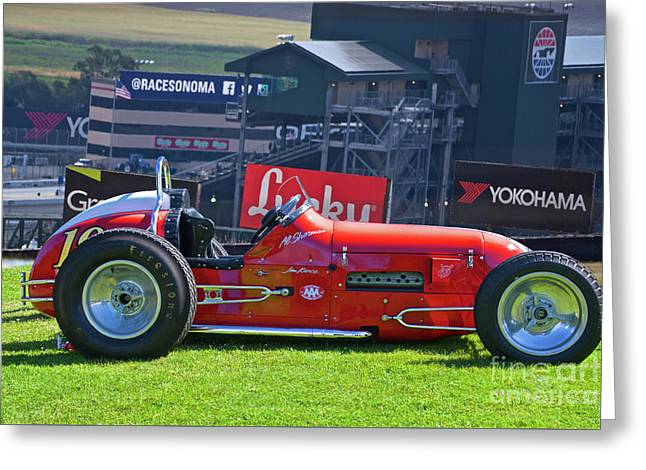 1948 Ford Sprint Car II Greeting Card by Dave Koontz