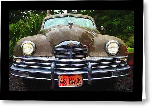 1948 Packard Super 8 Touring Sedan Greeting Card