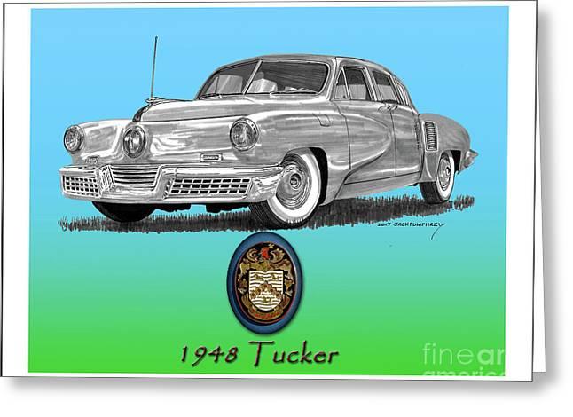 1948 Tucker Greeting Card