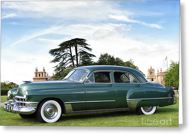 1949 Cadillac Fleetwood Greeting Card by Tim Gainey