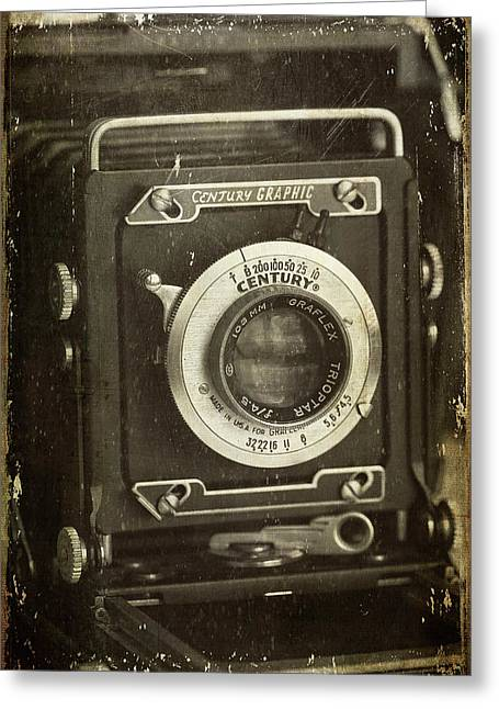 1949 Century Graphic Vintage Camera Greeting Card