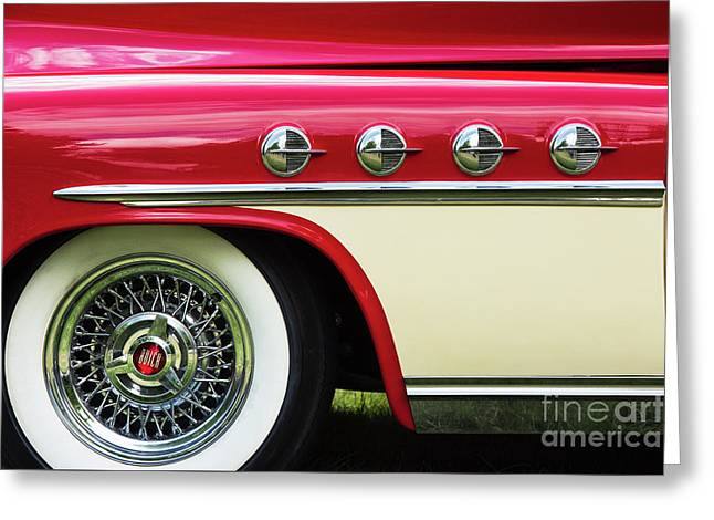 1951 Buick Roadmaster Fender Greeting Card
