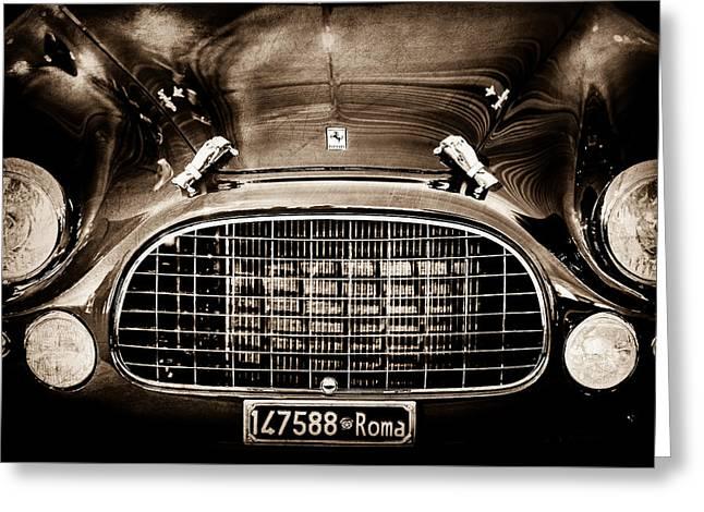 1951 Ferrari 212 Export Berlinetta Grille -1246s Greeting Card
