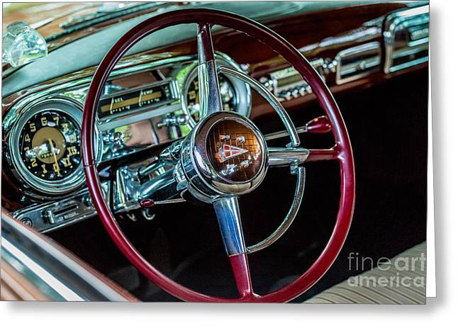 1951 Hudson Hornet Greeting Card