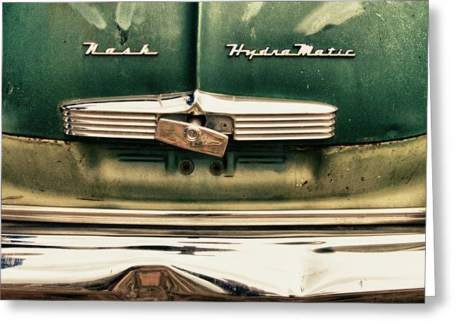 1951 Nash Ambassador Hydramatic Greeting Card by James BO  Insogna