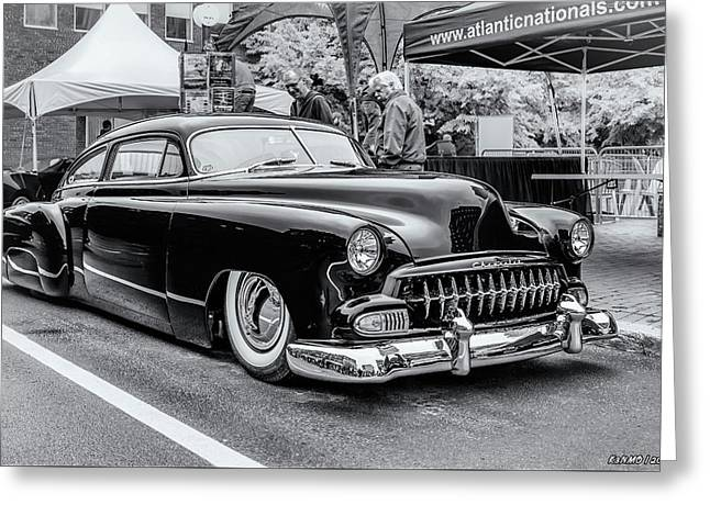 1951 Chevy Kustomized  Greeting Card by Ken Morris