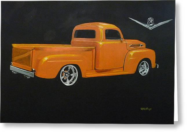 1952 Ford Pickup Custom Greeting Card