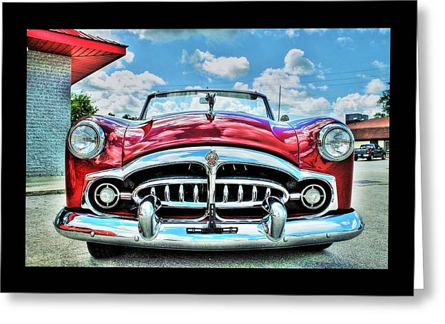 1952 Packard 250 Convertible Greeting Card