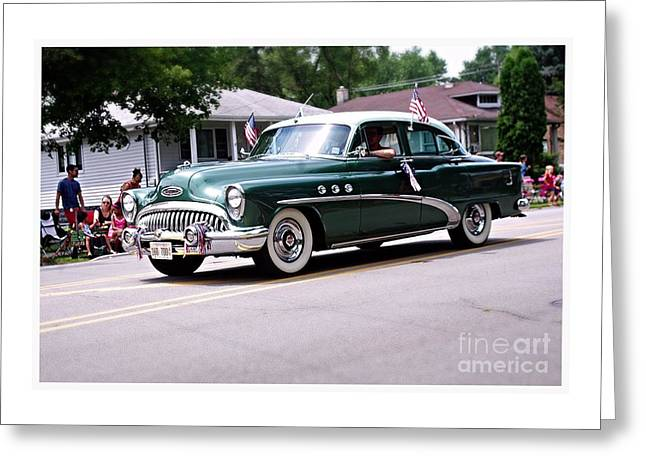 1953 Buick Special Greeting Card