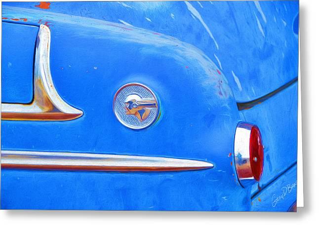 1953 Pontiac Chieftain Greeting Card