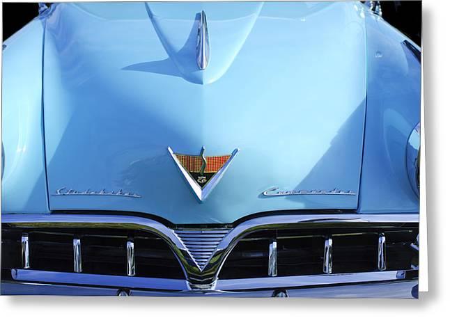 1953 Studebaker Emblem Greeting Card by Jill Reger