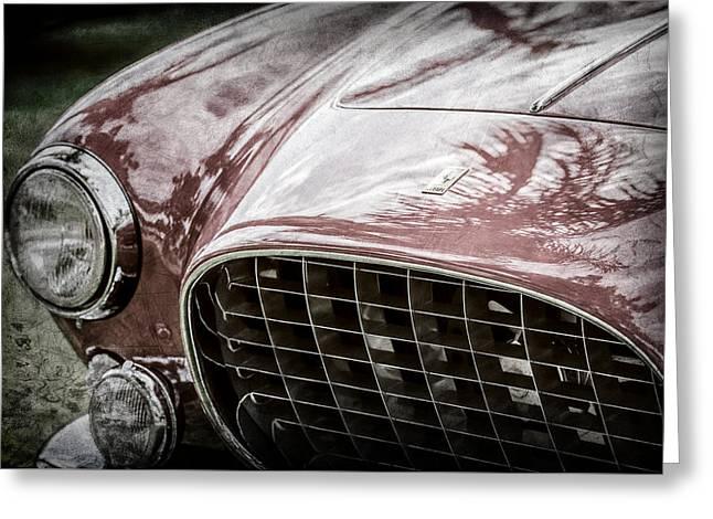 1954 Ferrari Europa 250 Gt Grille -1336ac Greeting Card by Jill Reger