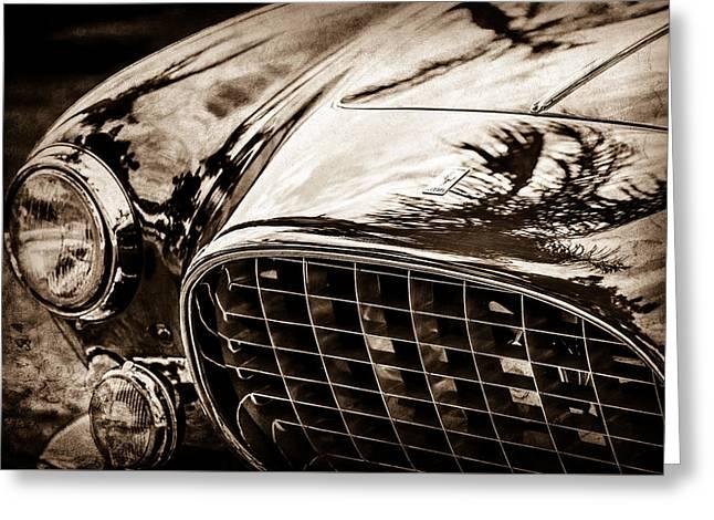 1954 Ferrari Europa 250 Gt Grille -1336s Greeting Card by Jill Reger