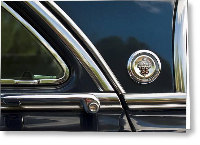 1954 Patrician Packard Emblem 3 Greeting Card