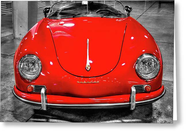 1954 Porsche 356 Speedster  V7 Greeting Card
