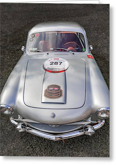 1954 Siats Vignale Coupe Greeting Card by Jack R Perry