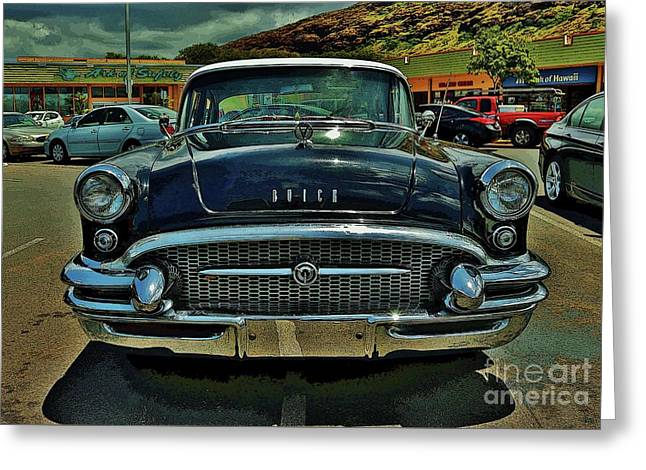 1955 Buick Special II Greeting Card
