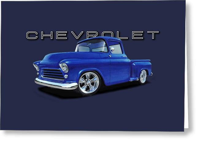 1955 Chevrolet Stepside Greeting Card