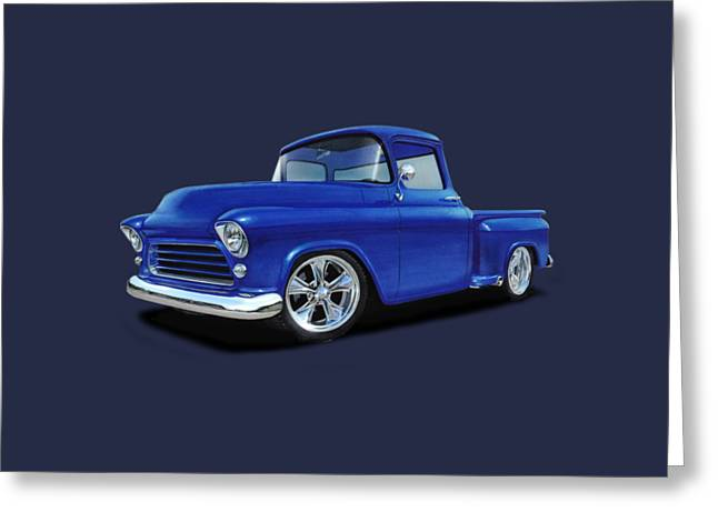 1955 Chevy Stepside Greeting Card