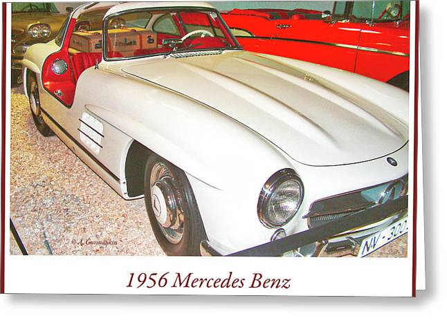 1956 Mercedes Benz Greeting Card