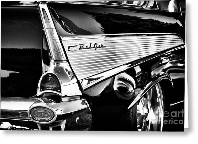 1957 Bel Air Fin Greeting Card