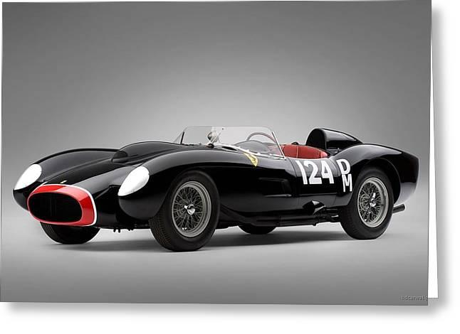1957 Ferrari Testa Rossa Wide Greeting Card