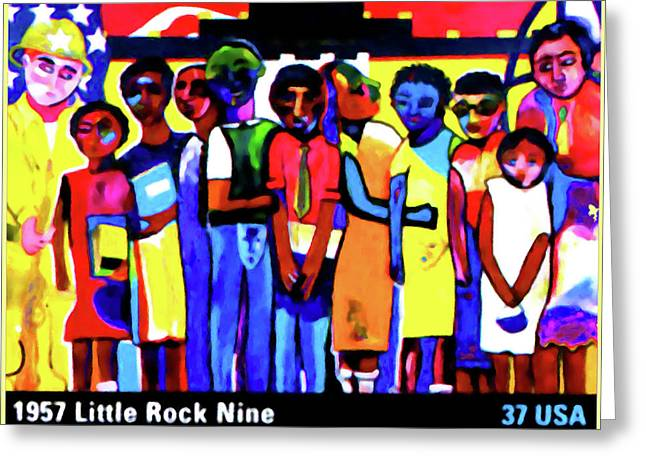 1957 Little Rock Nine Greeting Card