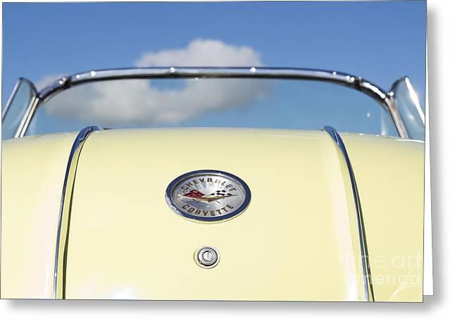 1958 Chevrolet Corvette Rear Greeting Card