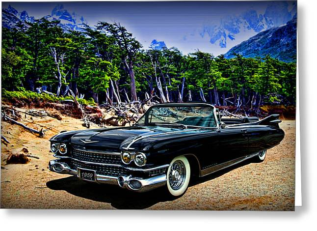 1959 Cadillac Eldorado Biarritz Convertible Greeting Card by Tim McCullough