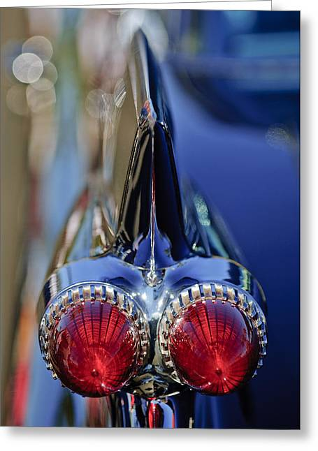 1959 Cadillac Eldorado Tail Fin 4 Greeting Card