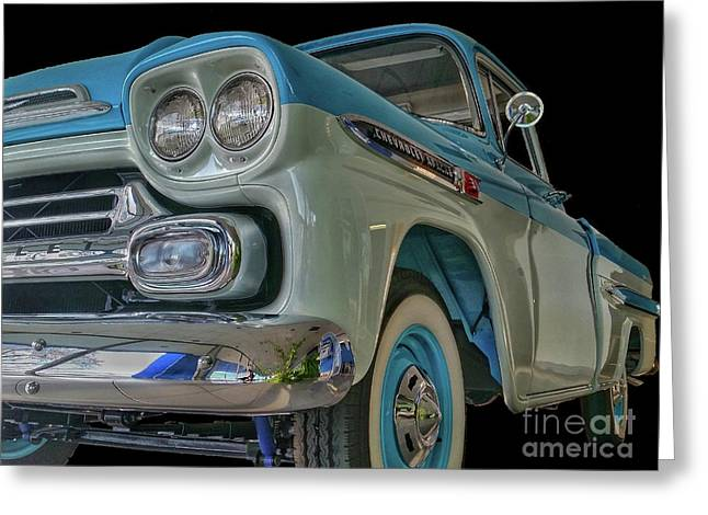 1959 Chevrolet Apache Greeting Card