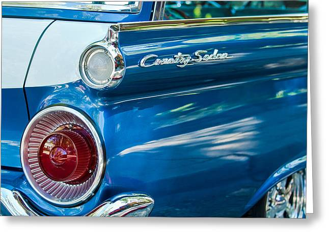 1959 Ford Country Sedan Tail Light Greeting Card by Jill Reger