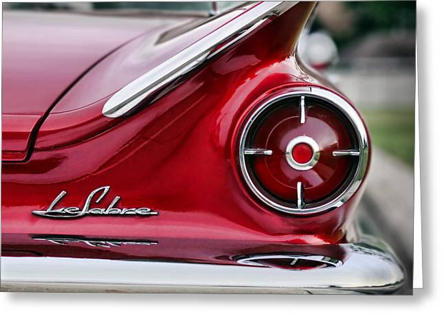 1960 Buick Lesabre Greeting Card by Gordon Dean II