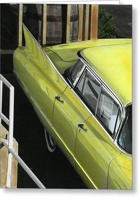 1960 Cadillac Greeting Card