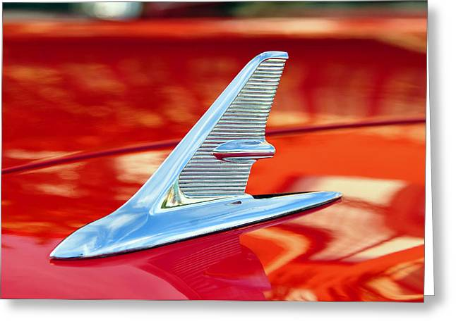 1960s Jet Style Greeting Card by David Lee Thompson