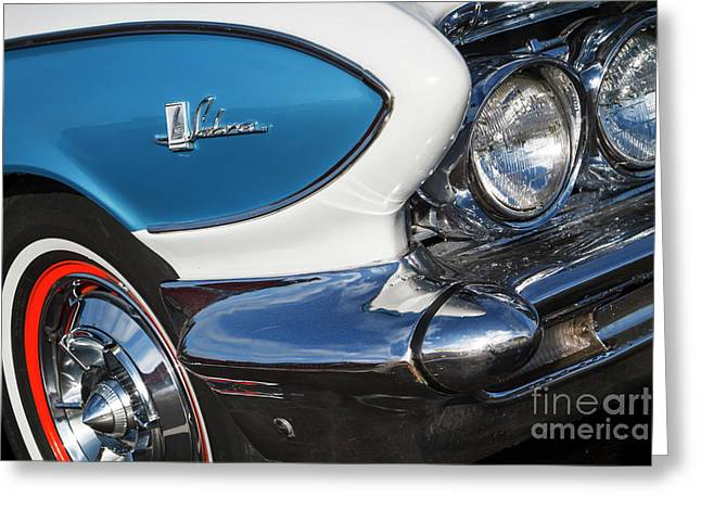Greeting Card featuring the photograph 1961 Buick Le Sabre by Dennis Hedberg